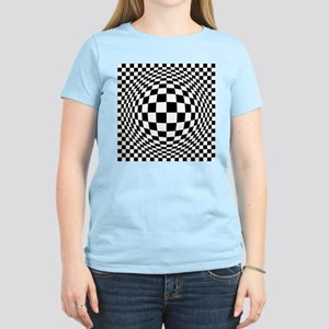 Ex[amded Optical Check T-Shirt